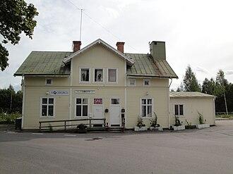 Edsbyn - Edsbyn Train Station