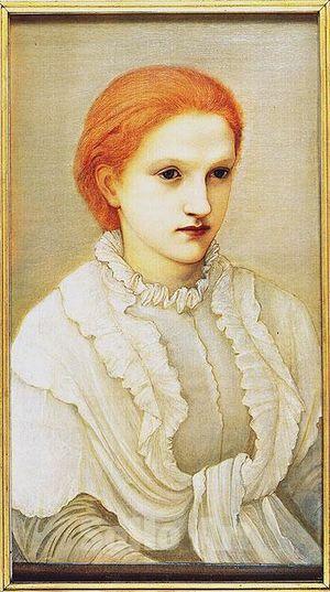 Frances Balfour - painting by Edward Burne-Jones