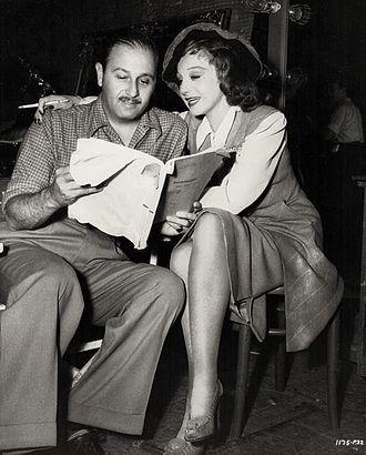 Edwin L. Marin - Edwin L. Marin and Elisabeth Bergner in Paris Calling (1941)