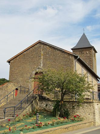 Anderny - Parish church of Saint-Étienne Anderny