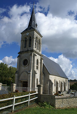Eglise Saint-Georges - Godisson - Orne.JPG