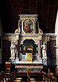 Eglise Saint-Jean de Lamballe (Côtes d'Armor), retable chapelle nord IMGP2088.jpg