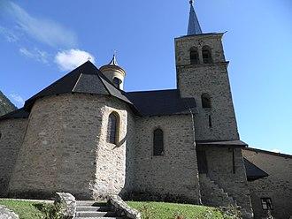 Aigueblanche - The church in Villargerel