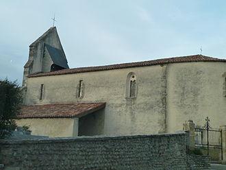 Fichous-Riumayou - The church of Saint-Girons, in Fichous-Riumayou