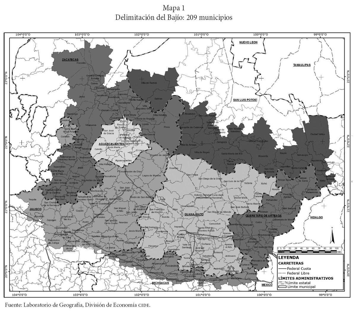 El Bajío (México) - Wikipedia, la enciclopedia libre