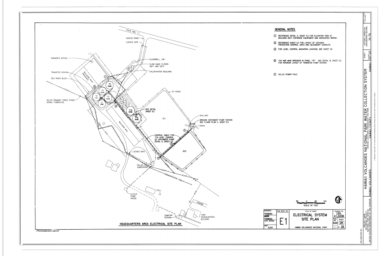 File:Electrical System Site Plan - Hawaii Volcanoes National Park ...