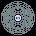 Electron shell 123 Unbitrium - no label.png