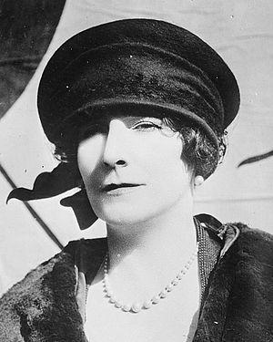 English novelist and scriptwriter Elinor Glyn ...