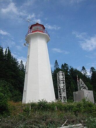 Cape Mudge Lighthouse - Cape Mudge Lighthouse