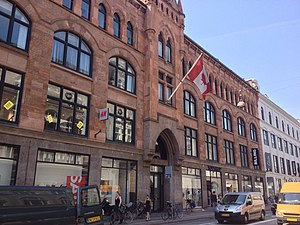 Canada–Denmark relations - Canadian embassy in Copenhagen, Denmark.