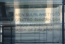 Embassy of Finland in Moscow, plate.jpg