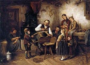 Emil Otto Grundmann - The Sleigh Maker