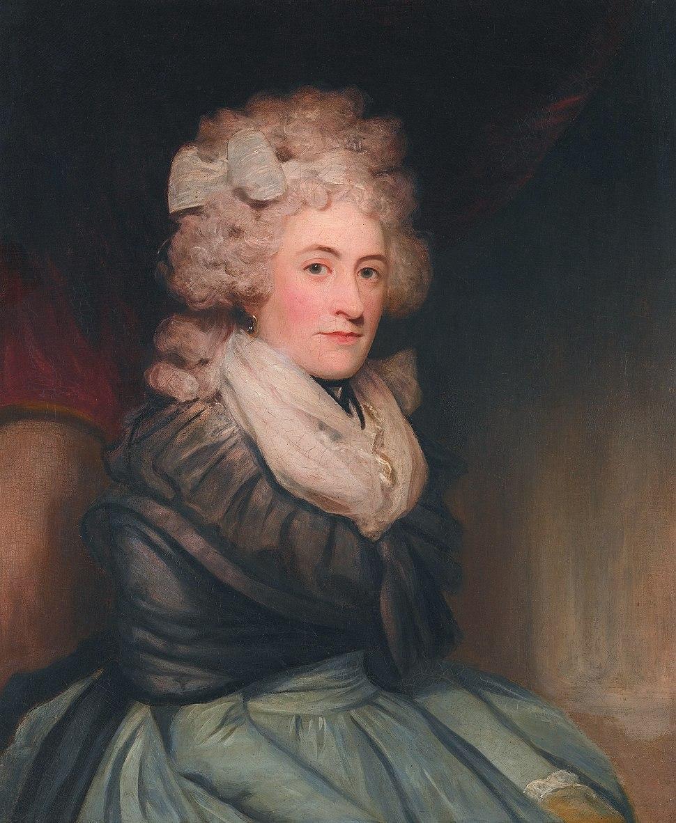 Emilia Charlotte Lennox, by John Hoppner