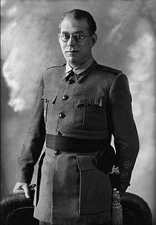 Emilio Mola Spanish military commander
