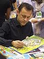 Emmanuel Chaunu à la foire du livre 2010 de Brive la Gaillarde.JPG