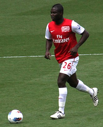 Emmanuel Frimpong - Frimpong with Arsenal in 2012