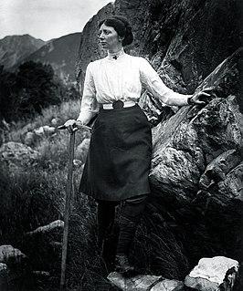 Freda Du Faur Australian mountaineer
