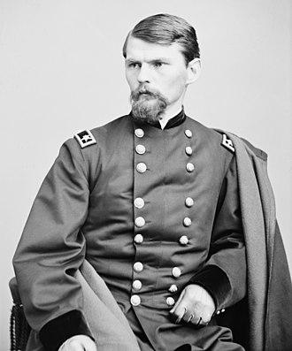 Emory Upton - Major General Emory Upton, c. 1865