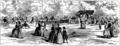 En villégiature - Une partie de lawn-tennis - 1887.png