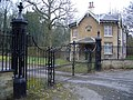 Entrance Gates and Piers at Brayfield Lodge and House - geograph.org.uk - 342067.jpg