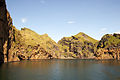 Entrance to the harbour of Vestmannaeyjar from the ferry Herjolfur-4.jpg