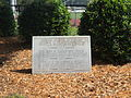 Episcopal School of Jacksonville track dedication marker.JPG