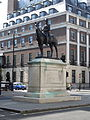 Equestrian statue of George Stuart White, London (2014).JPG