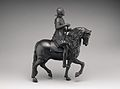Equestrian statuette of Philip IV, King of Spain (1605–1665) MET DP-922-001.jpg
