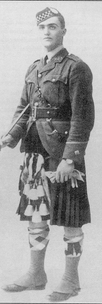 Alfred Yarrow - Eric Yarrow, son of Sir Alfred Yarrow