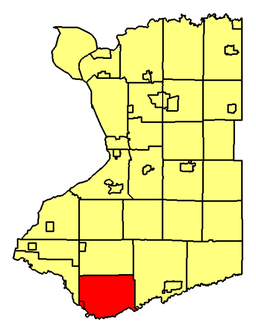 Location of Collins in Erie County