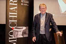 Ermanno Olmi al Premio Chiara nel 2013.