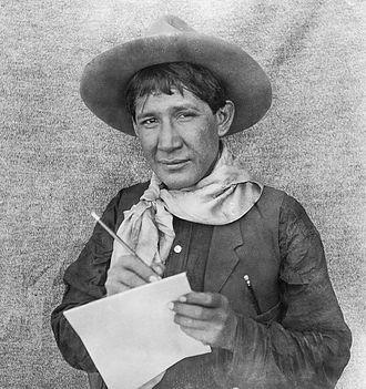 Ernest Spybuck - Ernest Spybuck, Absentee Shawnee artist, ca. 1910