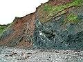 Eroding cliffs, Helwell Bay - geograph.org.uk - 2372629.jpg