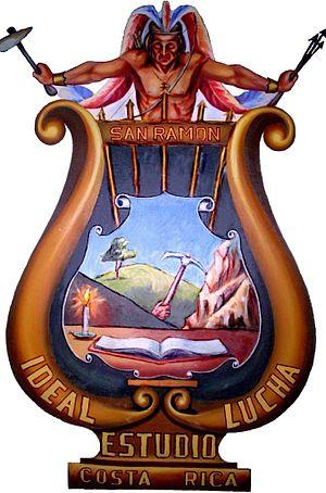 San Ramón (canton) - Image: Escudo del Cantón San Ramon