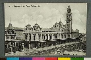 Estação da S. Paulo Railway Co