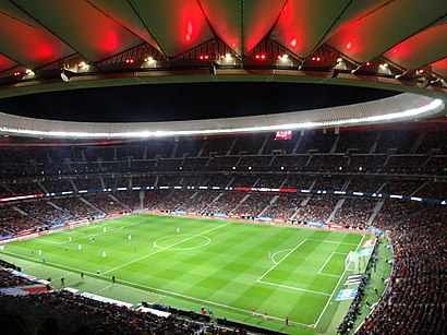 How to get to Estadio Wanda Metropolitano with public transit - About the place