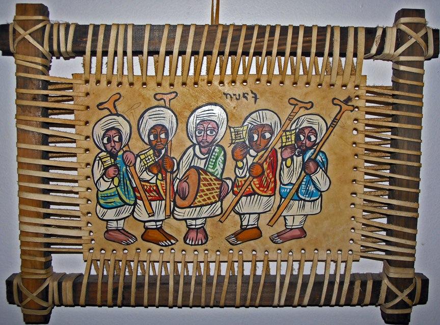 Ethiopian Painting 2005 SeanMcClean