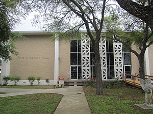 Mariette Rheiner Garner - Ettie R. Garner Hall is the women's dormitory at Southwest Texas Junior College in Uvalde, named for the wife of the former Vice President of the United States John Nance Garner.