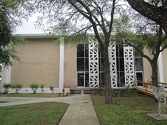 Mariette Rheiner Garner - Ettie R. Garner Hall is the women's dormitory at Southwest Texas Junior College in Uvalde, named for the wife of the former Vice President of the United States John Nance Garner.