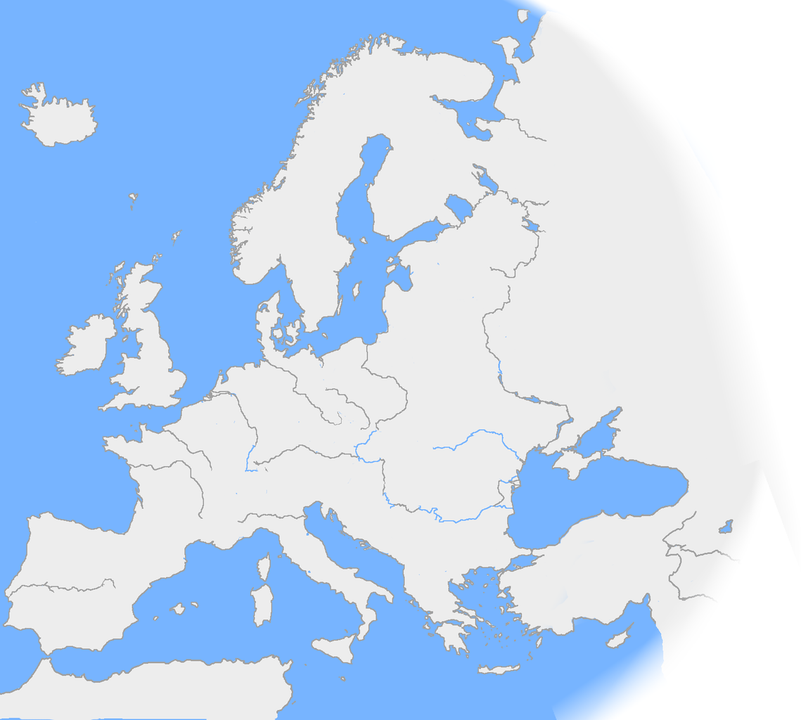Map Of Europe Plain.File Europe Plain Rivers Png Wikimedia Commons