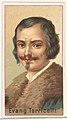 Evangelista Torricelli, printer's sample for the World's Inventors souvenir album (A25) for Allen & Ginter Cigarettes MET DP838853.jpg