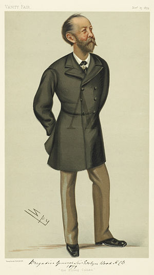 Evelyn Wood (British Army officer) - Wood by Spy in Vanity Fair, 1879