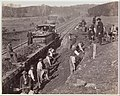 """Excavating for """"Y"""" at Devereaux Station, Orange & Alexandria Railroad MET DP274771.jpg"""