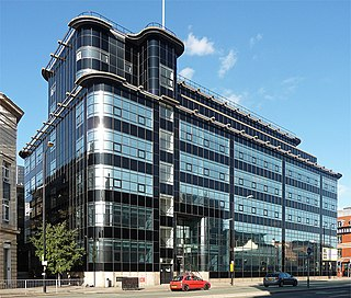 Daily Express Building, Manchester Landmark modernist building in Manchester, England
