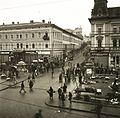 Fő tér (Piata Trandafirilor), szemben a Bolyai utca. Fortepan 83895.jpg