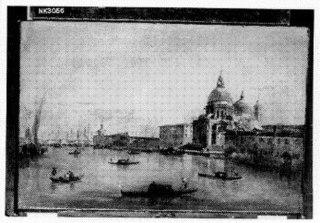 De ingang van het Canal Grande met de Santa Maria della Salu