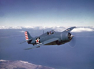 Grumman F4F Wildcat 1937 fighter aircraft family by Grumman; primary fighter of the US Navy entering World War II