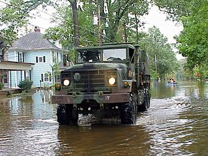 Tarboro, North Carolina - FEMA - 495 - Photograph by Sgt. 1st Class Eric Wedeking taken on 09-16-1999 in North Carolina