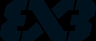 3x3 (basketball) - Image: FIBA 3x 3 Logo black