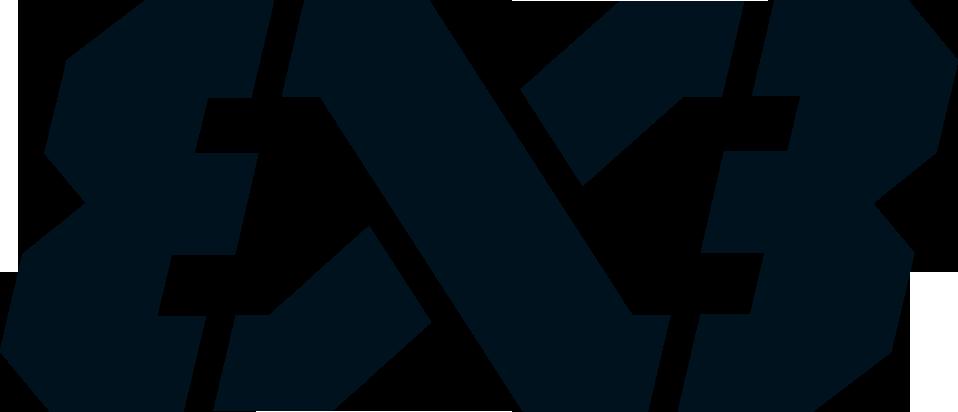 FIBA 3x3 Logo black